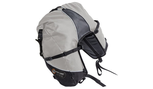 GBSB17-RT-G-Giant Loop Great Basin Roll Top Saddlebag Gray - Image not Found
