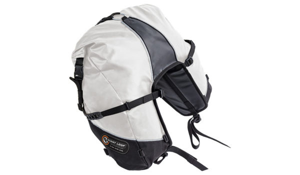 GBSB17-RT-W-Giant Loop Great Basin Roll Top Saddlebag White - Image not Found