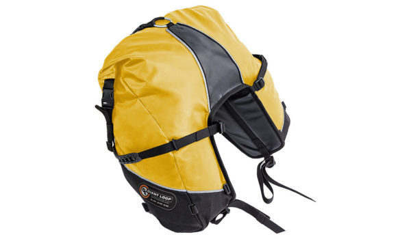 GBSB17-RT-Y-Giant Loop Great Basin Roll Top Saddlebag Yellow - Image not Found