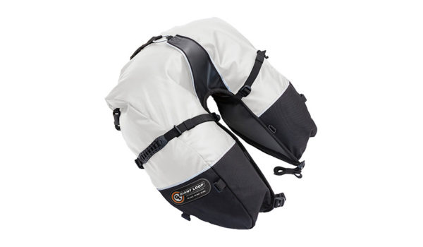 CSB17-RT-W - Coyote SADDLEBAG Roll Top White - Image not Found